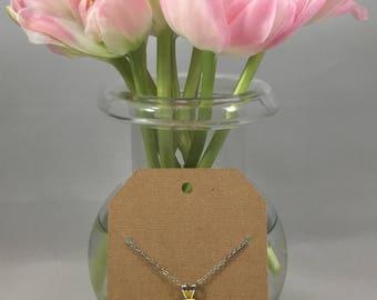 Rose Necklace Sunshine Yellow