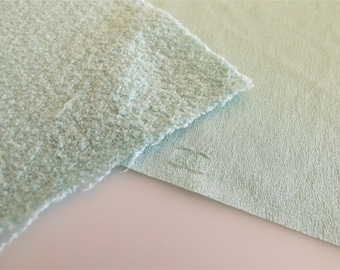 Chanel Fabric Swatch Mint Green / Pink