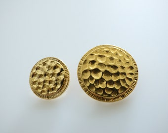 Chanel Vintage Gold Button 20mm, 26mm  / Price is for one button