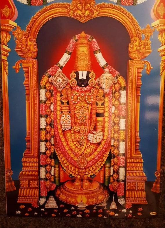 Venkateswara Balaji Etsy