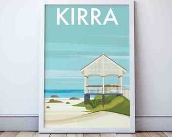 Collectible Vintage Kirra Serving Fork Beach House Mid Century Gold Coast Australia Original Souvenir Retro Kitchen Cool Gift Idea