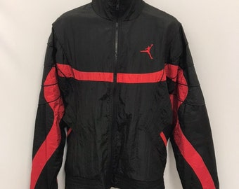 e2ad822f0314f3 Nike Flight Jordan Windbreaker Nylon Jacket SZ L