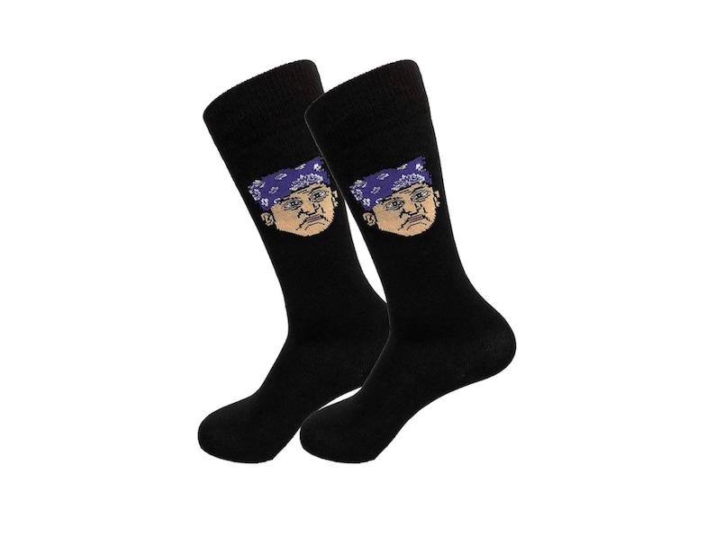 Prison Mike Dress Socks Michael Scott Dress Socks Funny Socks Crazy Socks Meme Socks Dress Socks