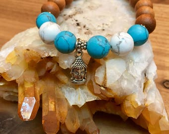 Mala Bracelet Meditation Bracelet Beaded Bracelet Buddha Bracelet