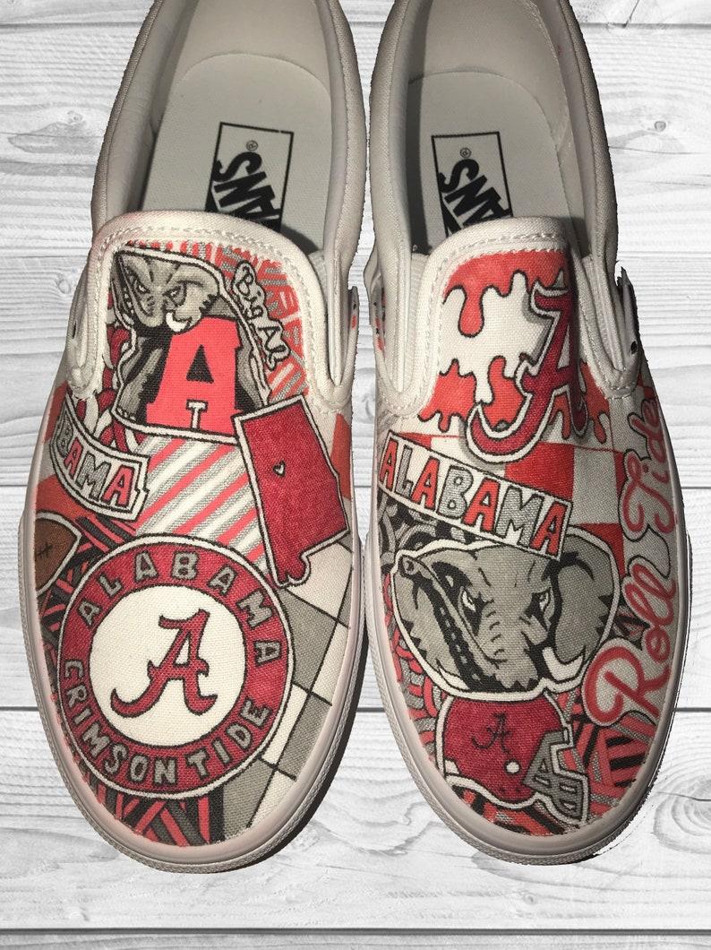 Universität von Alabama Crimson Tide kundenspezifische Schuhe!