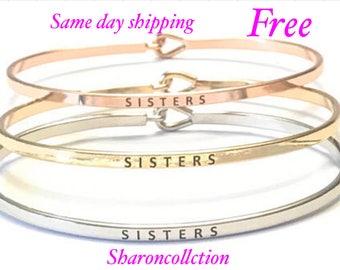 Inspired bangle bracelet (gold , rose gold , silver )