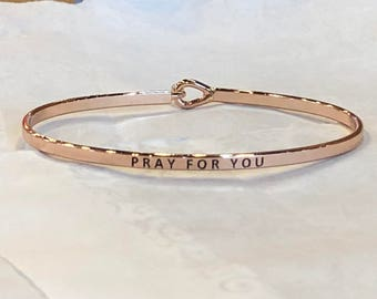 The inspired bangle ( pray for you )