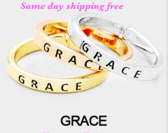 GRACE - inspiration ring ( only one ring )
