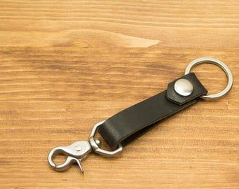 Personalized Leather Key Chain, Key Fob, Key Holder, Key Lanyards, FREE DOMESTIC SHIPPING