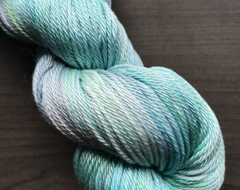 Hand dyed Pima Cotton DK yarn - SPECIAL GIFT by Monarch Fibers