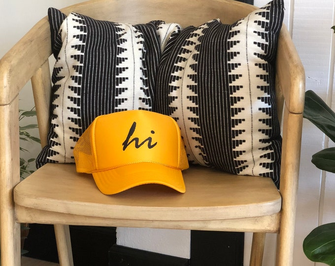Hawaii Unisex Gold Foam Trucker Hat