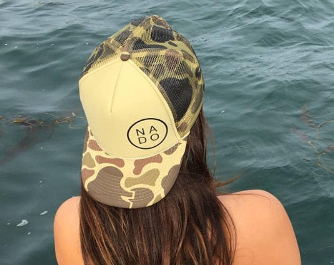 NADO  Coronado Camouflage Foam Trucker Hat