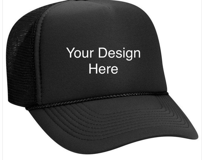Custom Foam Trucker Hat