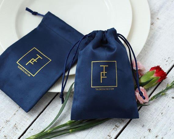 Baby Bear Favor bags Personalized logo print drawstring bags Custom jewelry packaging bags Custom favor bags Soap bag Wedding bags
