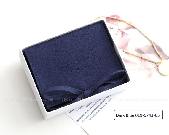 jewelry pouch,microfiber,50pcs free shipping 10cm*10cm personalized jewelry bags with custom logo