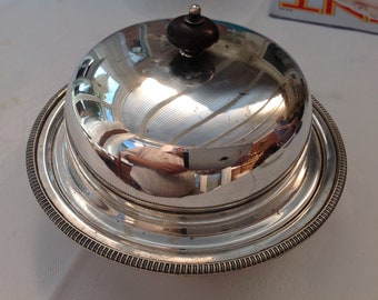 Silver Plated Butter Dish, James Deakin & Sons, 1871-1900