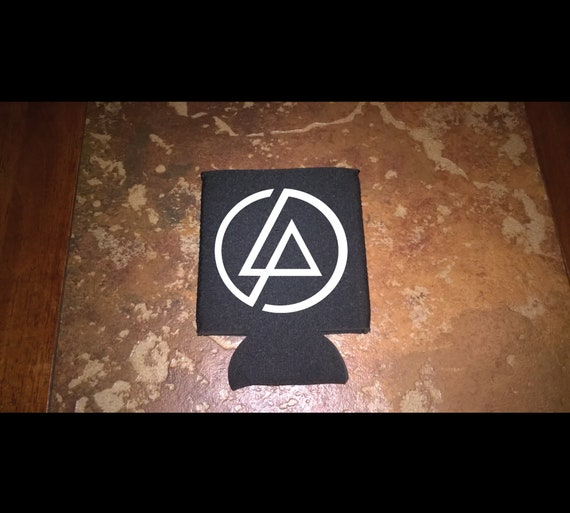 Linkin Park Band Logo Can Bottle Cozie Cooler Insulator High Quality Thick Neoprene Hand Made Makes A Great Gift Chester Bennington