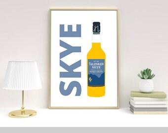 Isle of Skye art print, Scottish, Scotland