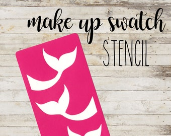 "Stencil ""MERMAID"" per Swatch Make Up 