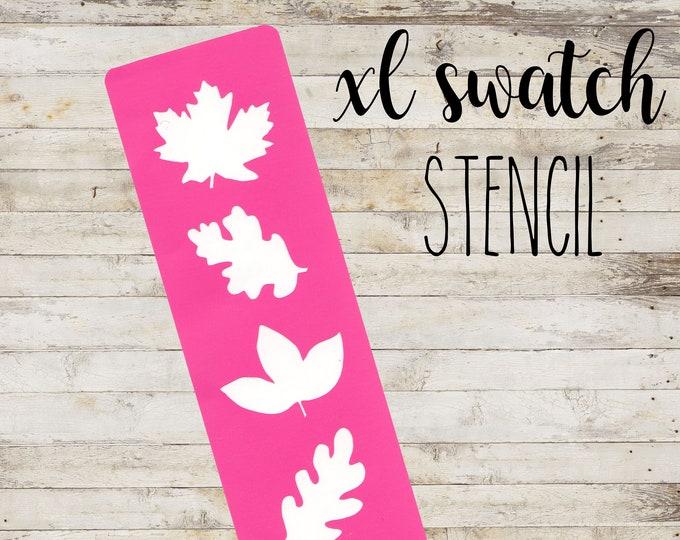"XL Swatch Stencil ""FALL"" per Makeup | Stencil a 5 Sezioni"