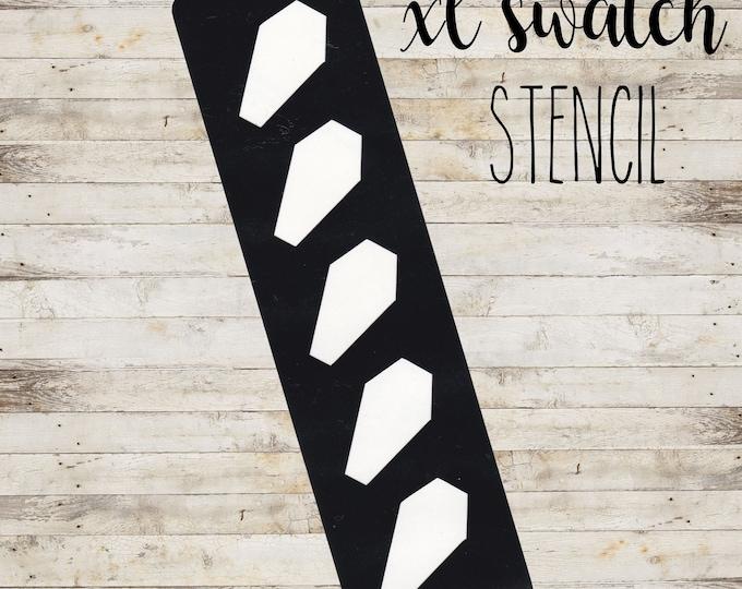 "XL Swatch Stencil ""COFFIN"" per Makeup | Stencil a 5 Sezioni | HALLOWEEN"