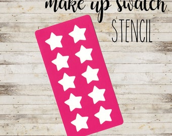 "Stencil ""STARS #2"" per Swatch Make Up 