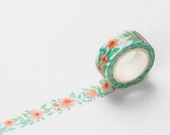 Washi Tape decorato Fiori