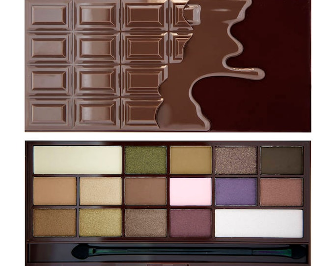 I Heart Chocolate Palette - Make Up Revolution - MUR