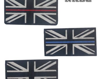 England Flag Embroidery iron sew on Patch Badge