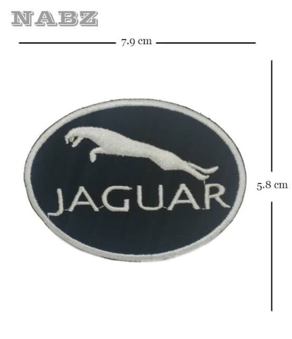 Jaguar Car Brand Logo Embroidery Iron Sew On Patch Badge Etsy