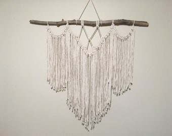 Minimalist Macrame Wall Hanging - Extra Large