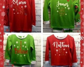 Personalised Christmas Pj's