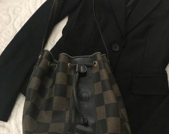 Vintage Fendi Drawstring Bucket Bag