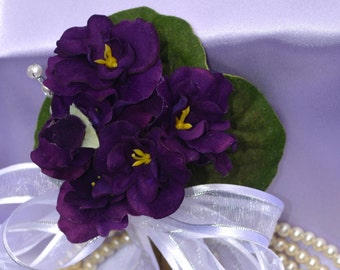 Simplicity in Bloom - African Violets