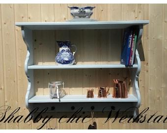 Shabby chic kitchen shelf, living room shelf, country house, vintage