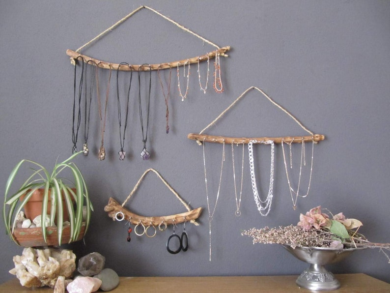 Wood Jewelry Organizer