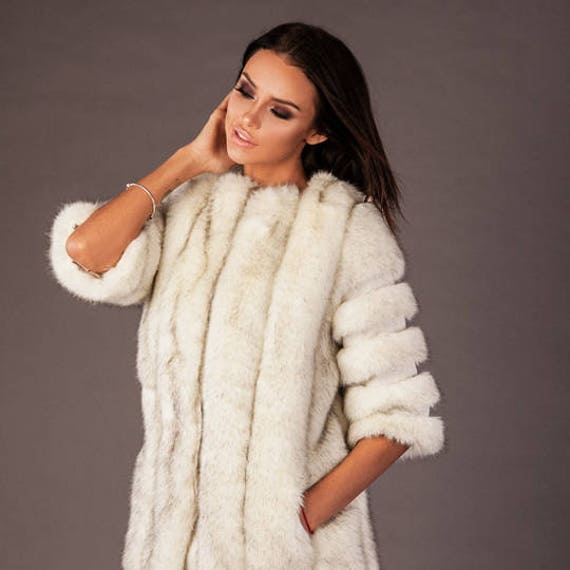 Eco fur faux outwear fur coat fur garment Fashionable faux coat winter princess friendly Woman coat Stylish UYfwSqq