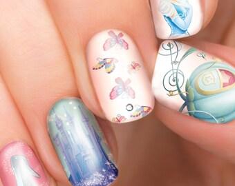 Disney Nails Etsy