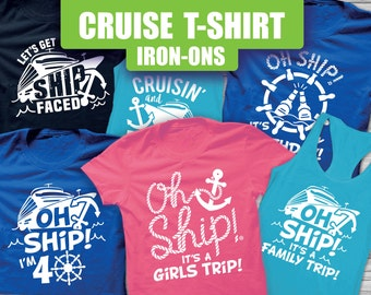 fdff4e2f3 Cruise Shirts, Cruise Tank top, drinking cruise, Cruise Iron On, matching  cruise, family cruise, Oh Ship, Ship faced, Cruising boozing