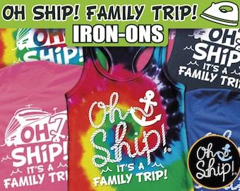 Cruise Shirts, Cruise Tank top, drinking cruise, Cruise Iron On, matching cruise, family cruise, Oh Ship, Ship faced, Cruise Iron Ons