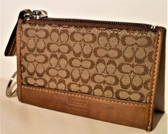 Coach Original Vintage Coin Purse and Key Ring