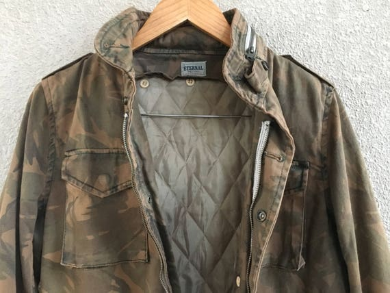 hot x size Extremely made clothing stuff Union light jacket jacket women men military jacket camo Eternal streetwear denim m dqqwF4x