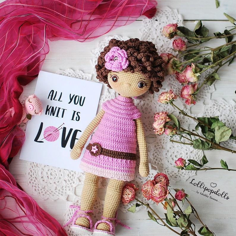 ELLIE Crochet Tilda Doll Amigurumi Luxury Doll in lush   Etsy   794x794