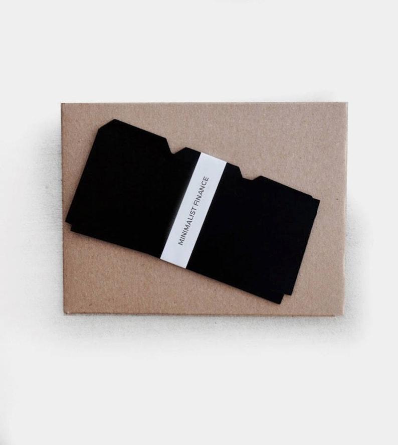 Plastic Cash Dividers for Envelope System  Dave Ramsey image 0
