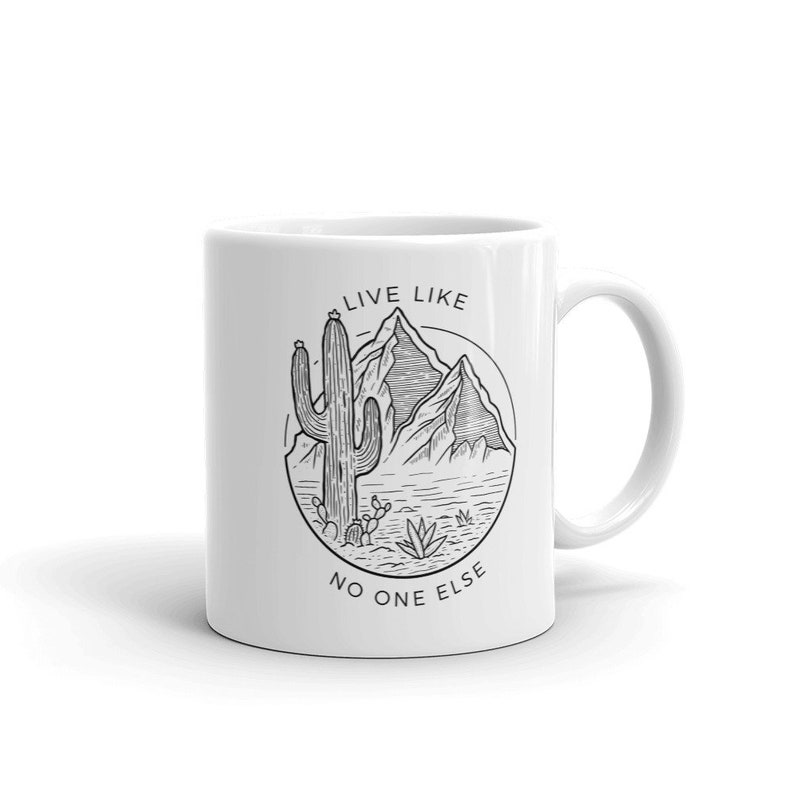 Live Like No One Else  Desert Vibes Mug image 0