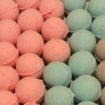 Sale Bath Bombs-Made with Coconut Oil-Variety of Colors and Fragrances-Sensitive Skin-Perfect for Kids-Free Shipping over 50