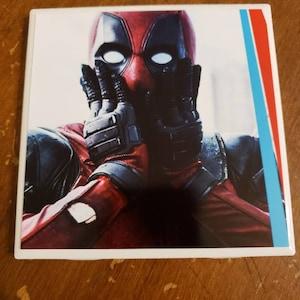 Resin Coasters Roberts Deadpool
