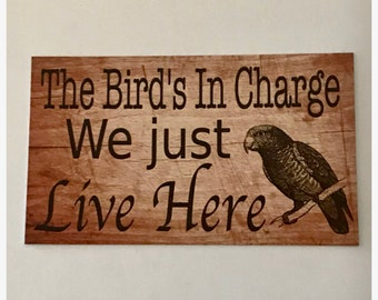 Bird cage sign | Etsy