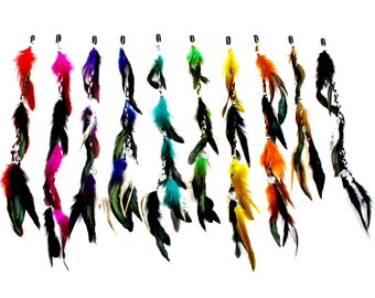 Clip In Hair Feathers