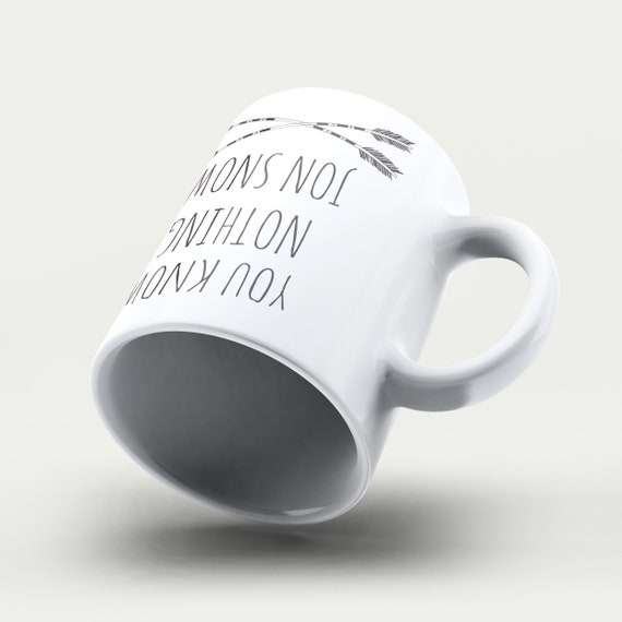 Lustige Becher Jon Snow Zitat Spiel Der Throne Wissen Sie Nichts Jon Snow Der Winter Steht Vor Der Tür Lustige Geschenke Kaffeebecher Keramik